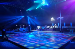 An LED Dance Floor Makes for a Memorable Party