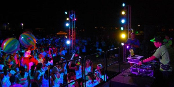 Image of Glow Party Events with DJ