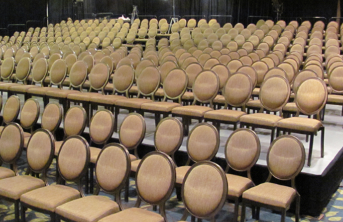 & Clarin 4400 3400 VIP Chair Rentals - In Depth Events