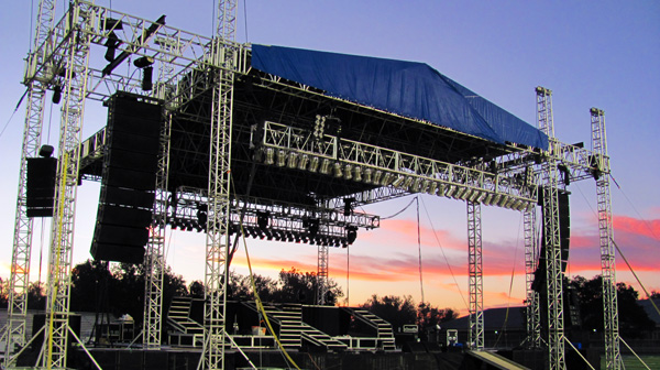 Image of Stage and Roof Systems