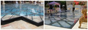 Image of Standard vs Flush Mounted Pool Cover