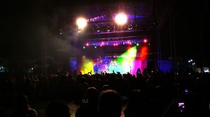 Lighting Adds to the Show at a Large Concert