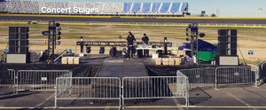 Concert Stage at Texas Motor Speedway