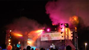 Intelligent LED Lighting at an Outdoor Festival