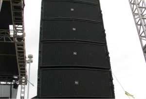 Image of Line Array Sound System