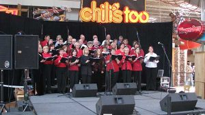 Mall Choral Risers Rentals