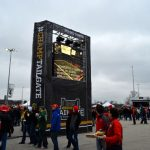 Image of Media Tower event outdoor signage
