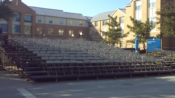 Outdoor Audience Seating Riser Image