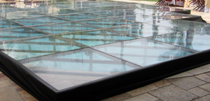 A Pool Cover Brings Your Event Outside
