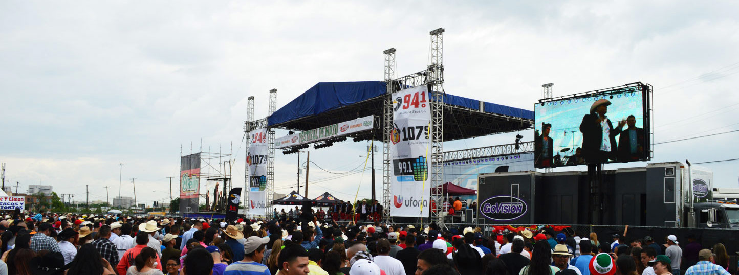 Image of Concert Production for Univision Radio Event