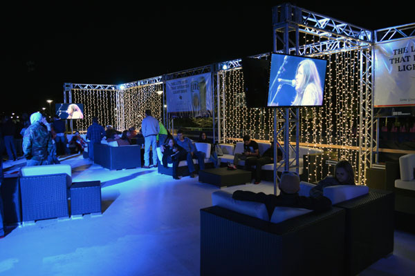 Image of Concert Lounge at Night