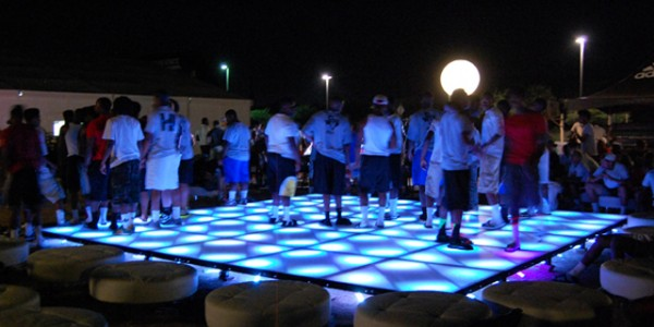 Image of Outdoor LED Dance Floor