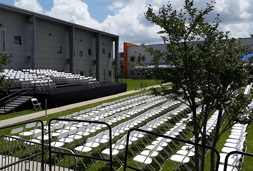 Graduation Stage Rentals and Choral Riser