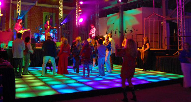 LED Dance Floor Rentals