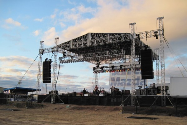 audio line array system