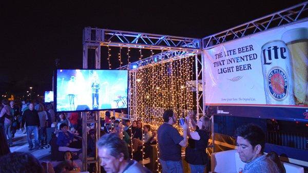 Image of The Miller Light Concert Lounge at SXSW