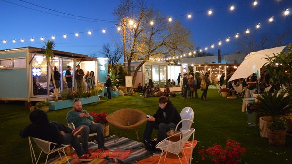 Image of AirBnB Park at SXSW